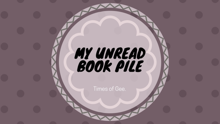 My Unread Book Pile and How I want to manage it! – Vlog #2