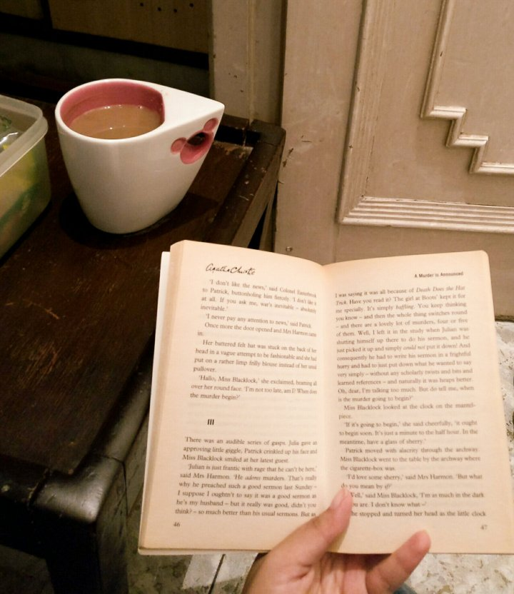 Dear Diary | 20 Oct, 2017 | Spookathon Day 5 | My first book by AgathaChristie!