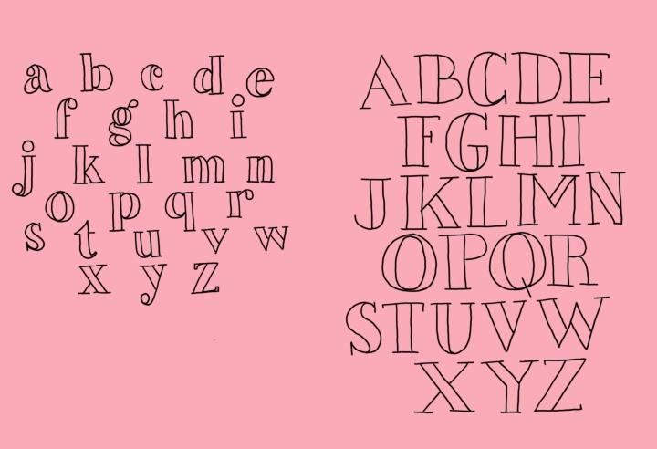 double serif practice